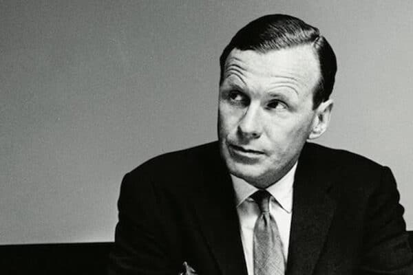 David Ogilvy. The father of advertising og en af historiens største copywriters.